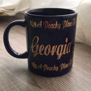 ✨6/$20 Gold Georgia Navy Coffee Mug